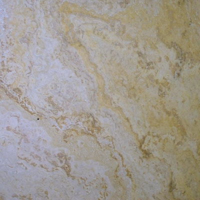 Yellow Travertine Close 1