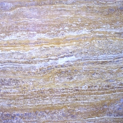 Golden Travertine Vein Cut Close 1