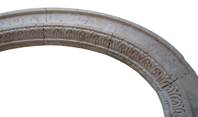 Coralina Hand Carved Arch