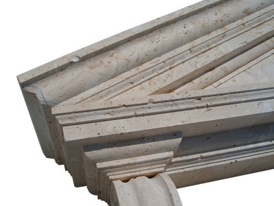 Coralina Pediment Detail