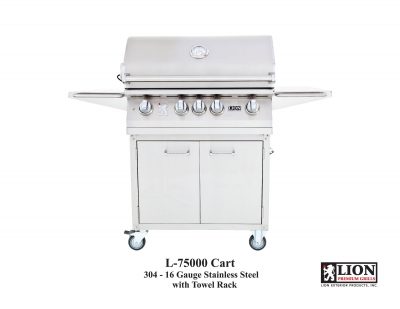 Lion L75000 Premium Grill and Cart