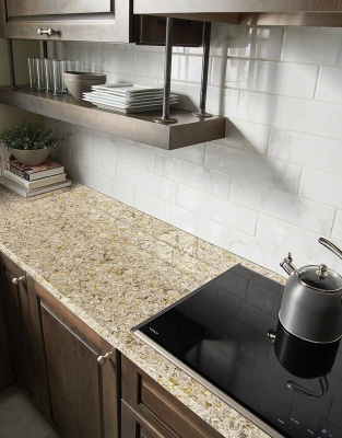 Chantilly Taupe™ Quartz Kitchen